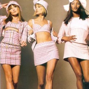Iconic Chanel Vintage Spring 1994 Pink 94P Suit